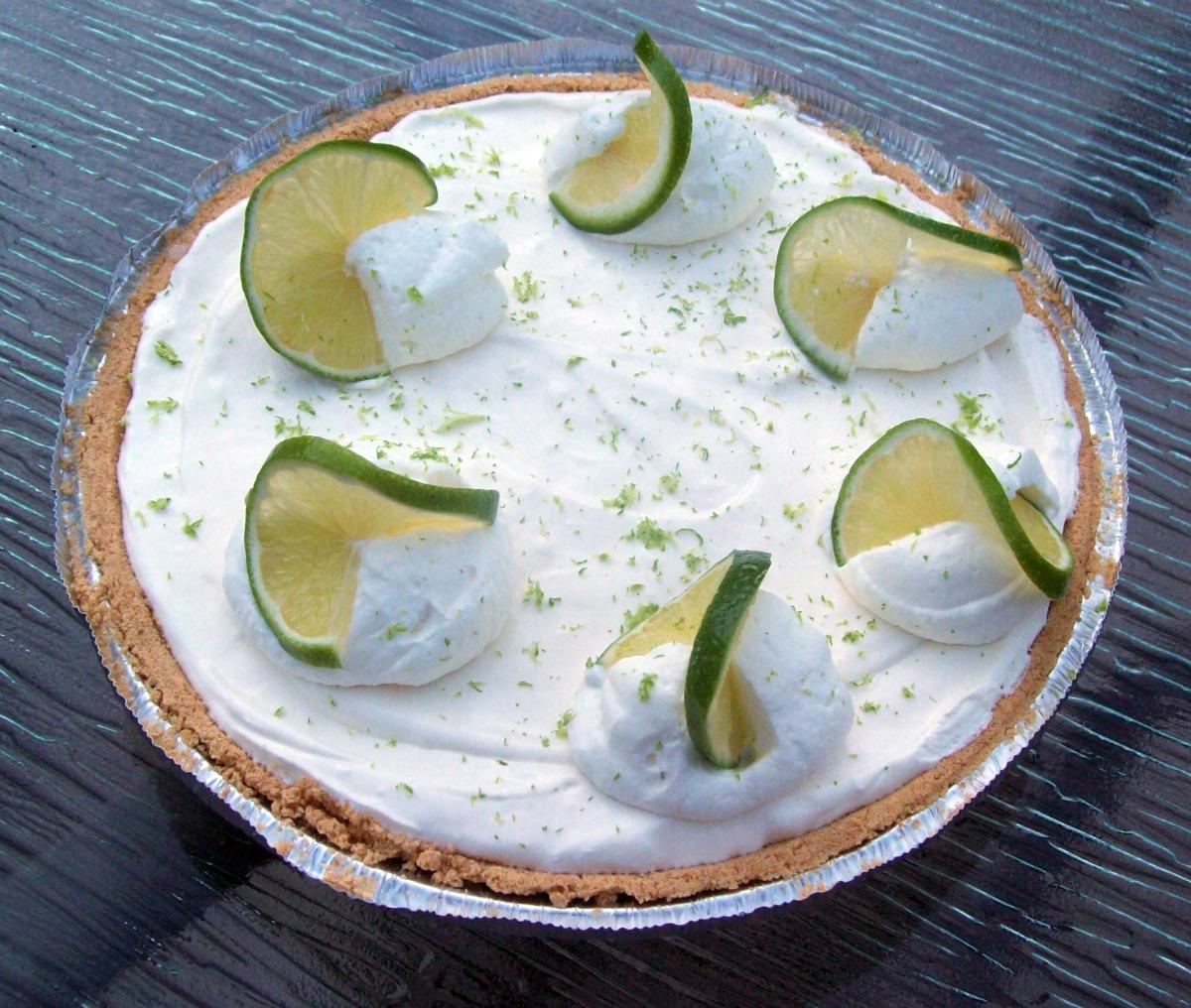 FishPrincessDesigns Welcome Friends!: Frozen Key Lime Pie