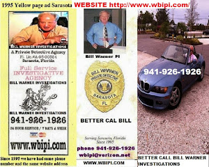WEBSITE LINK Bill Warner investigations