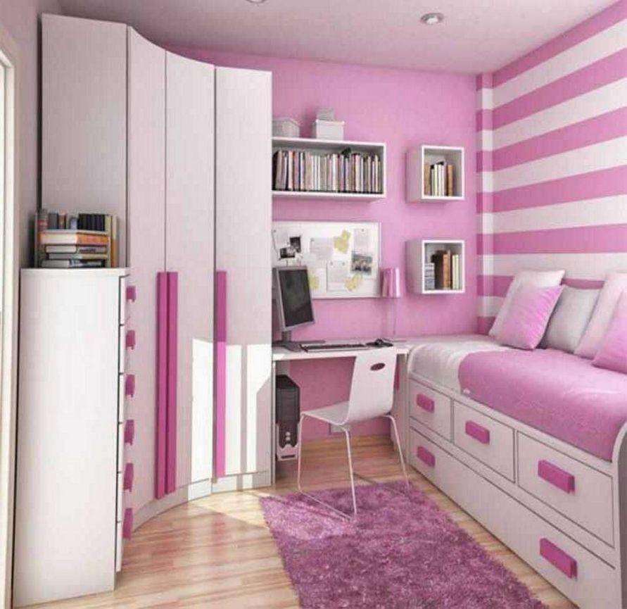 kombinasi cat pink kamar anak remaja unik