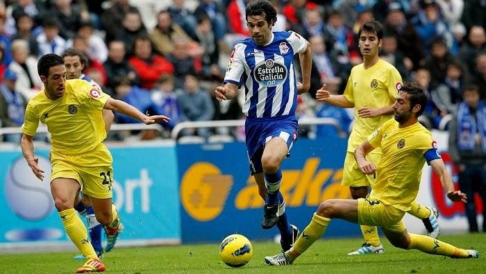 Villarreal vs Deportivo La Coruña en vivo