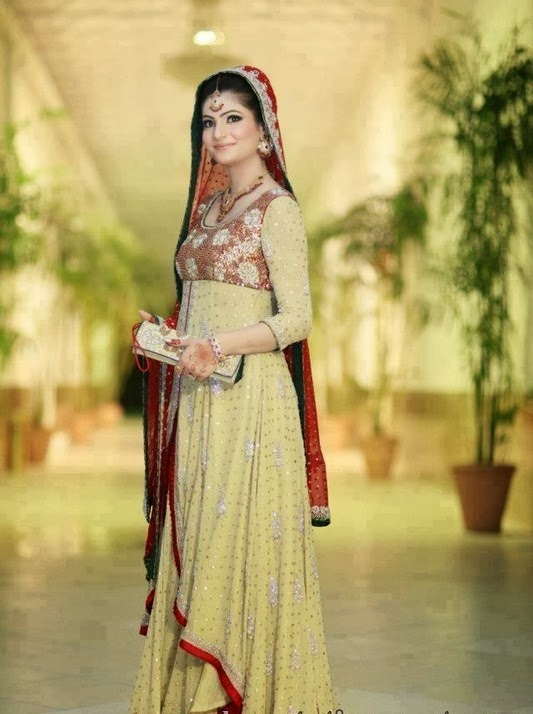 Pak-Indian Full Sleeve Wedding Dresses 2014 for Married Girls - New ...