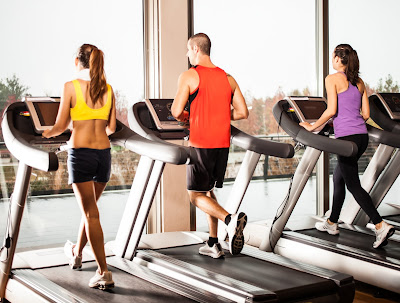 Make sure you get some treadmill or other cardio time in at the gym!