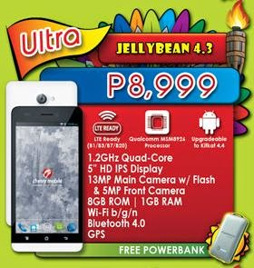Cherry Mobile Ultra, Quad Core Snapdragon with LTE