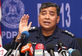 Ketua Polis Negara Tan Sri Khalid Abu Bakar
