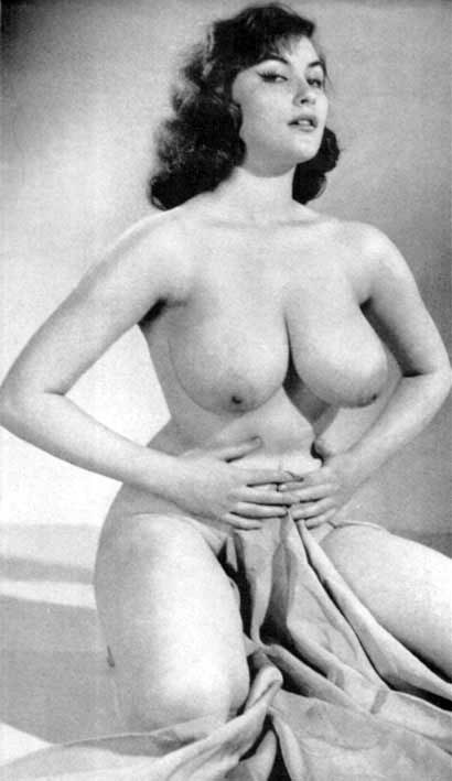 Not Vintage big boob women nude agree with