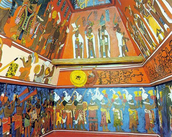 Kin tours may 2011 for Bonampak mural painting