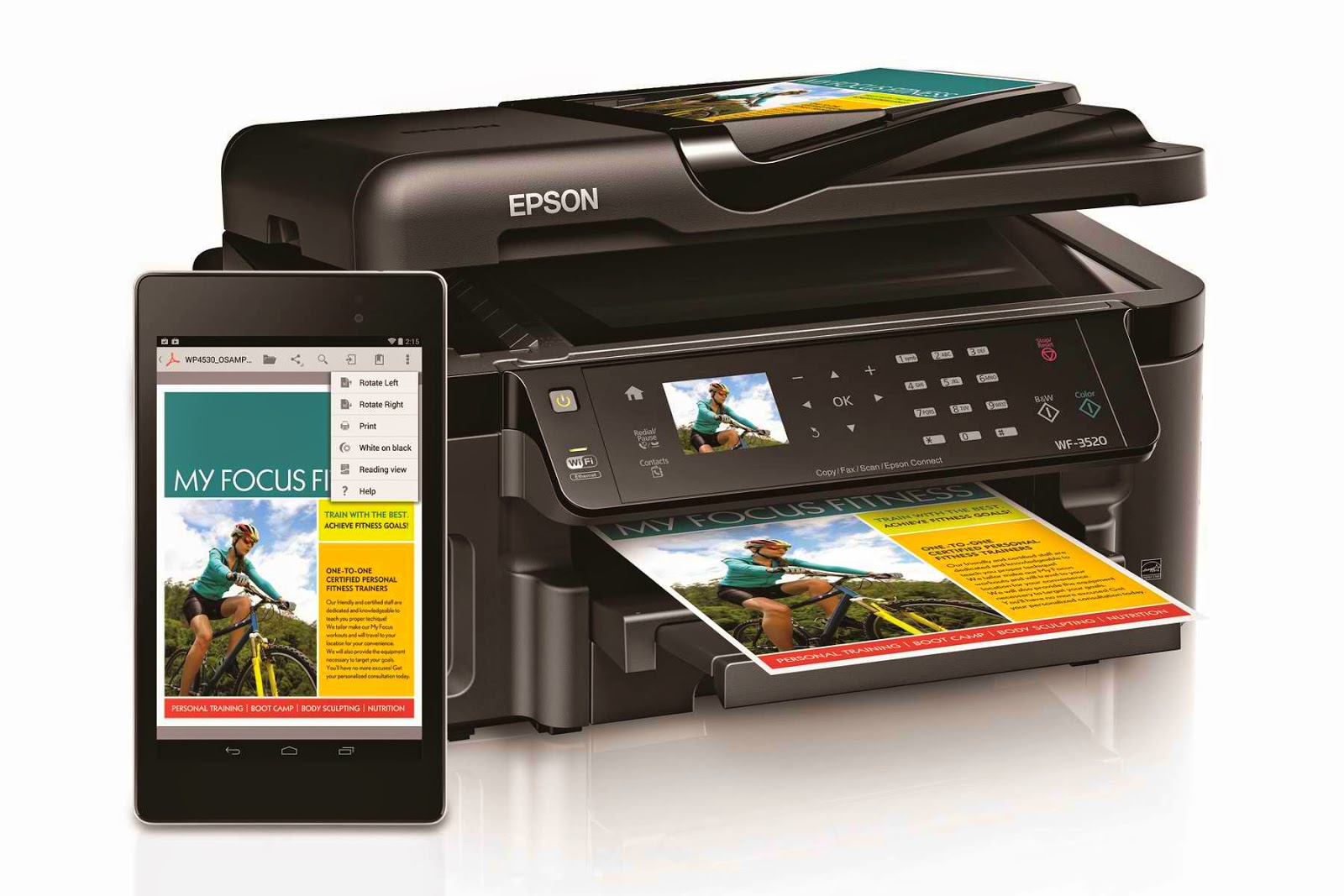 Epson Supports Android KitKat Native Printing for Easy ...