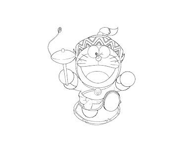 #9 Doraemon Coloring Page