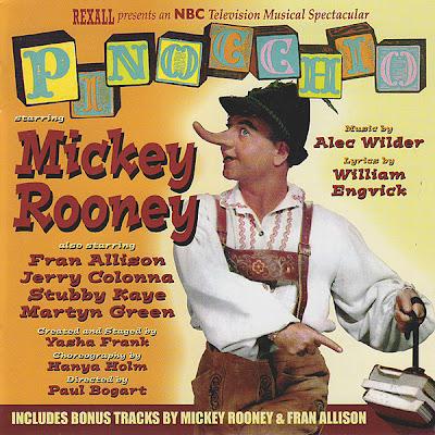 Rooney Pinocchio Golden Afternoon Fran Allison Strange Disney