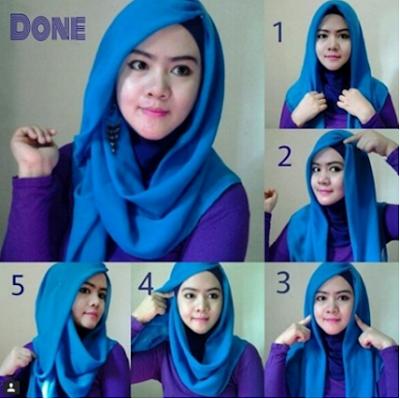 Tutorial Hijab Untuk ke Kantor