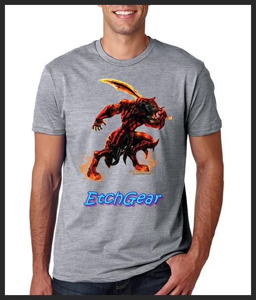 Etchgear dark wolf direct to garment printed t shirts for Direct to garment t shirts