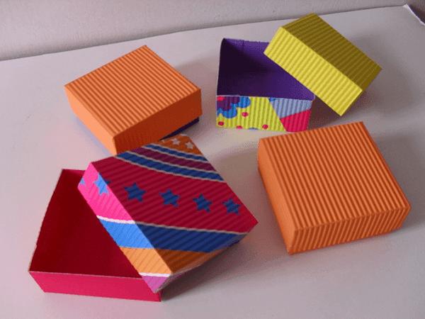 Biblioteca de recursos proyecto est en ti - Cajas de carton pequenas decoradas ...