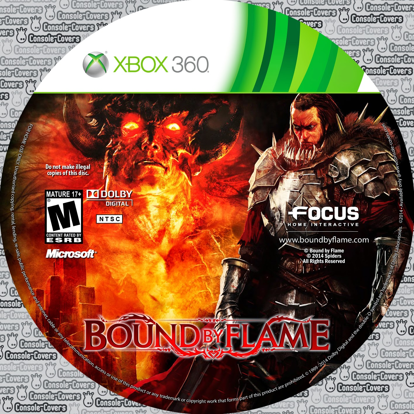 Capa Bound by Flame XBOX 360