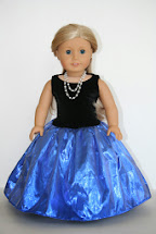 American Girl Doll Fancy Dress Patterns