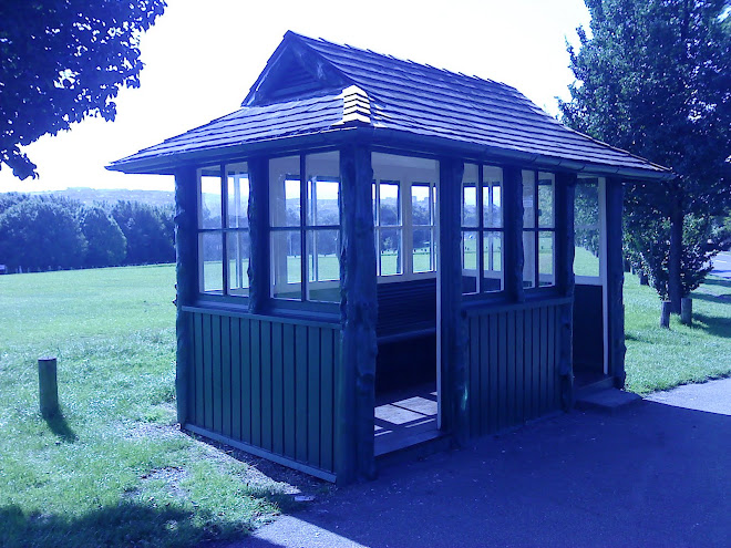 An existing brighton tram shelter.