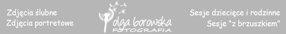 Olga Borowska FOTOGRAFIA - zdjęcia ślubne Legionowo Warszawa | fotografia dziecięca Łomianki