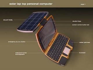 Laptop Tenaga Surya Pertama di Dunia
