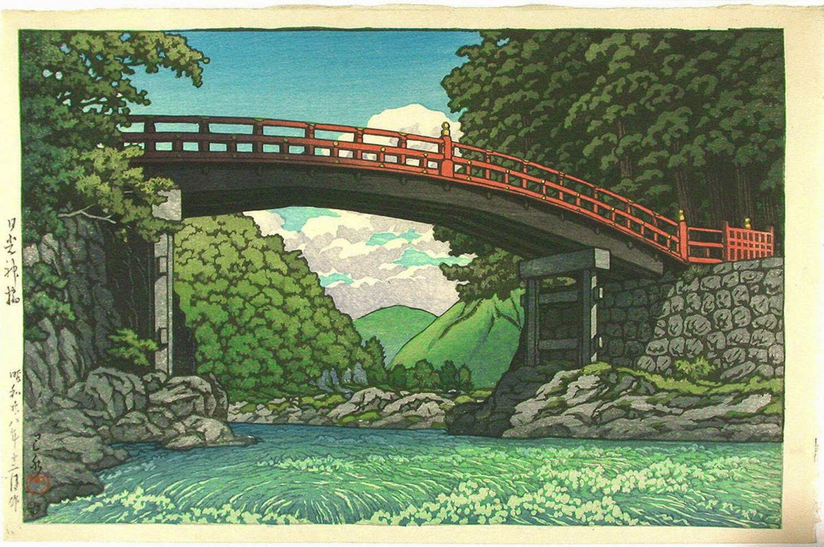 Art Now And Then Hasui Kawase