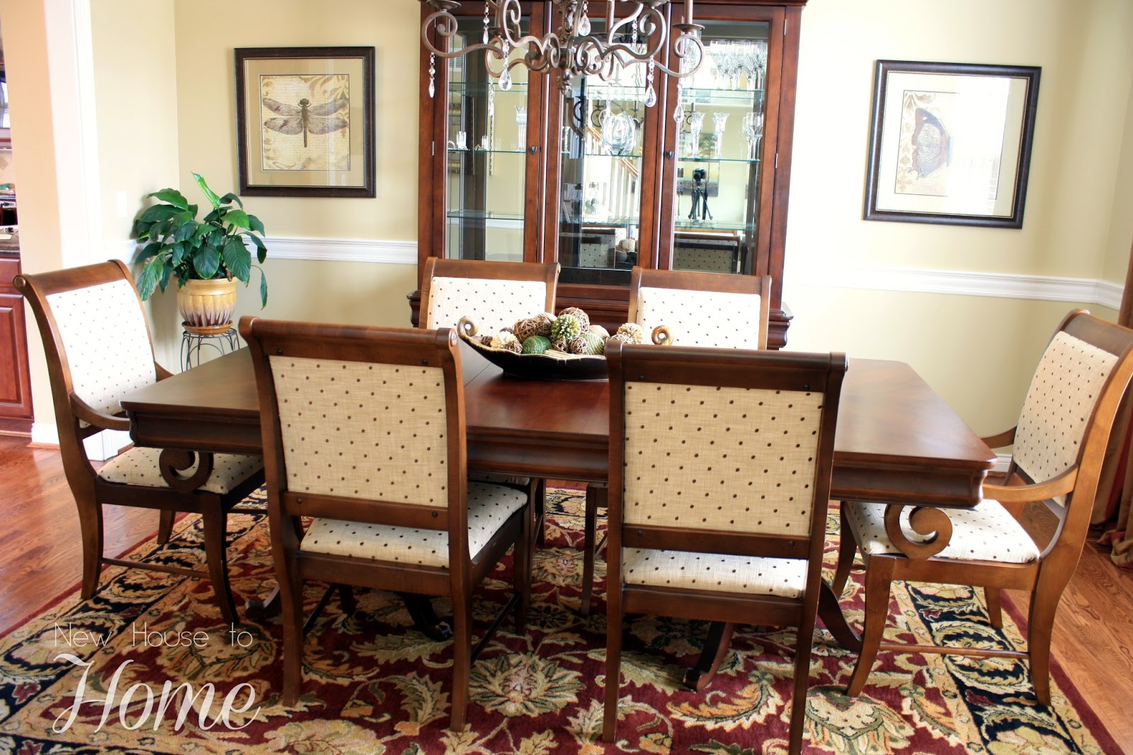 New House to Home: How I Recovered My Dining Room Chairs