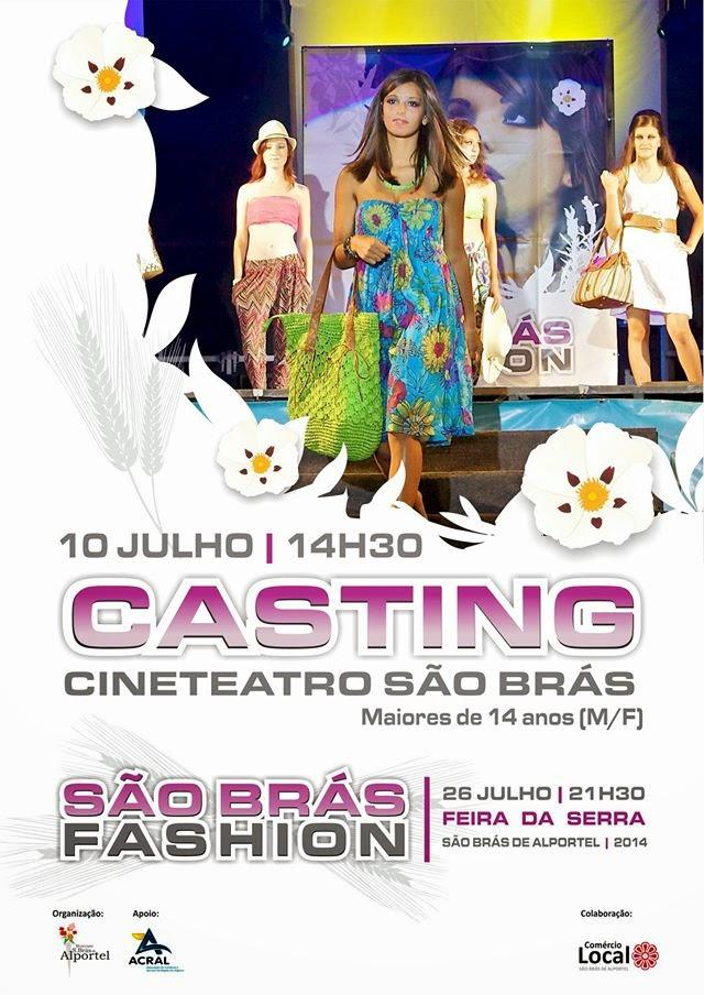 Casting para o São Brás Fashion – São Brás de Alportel (Algarve)