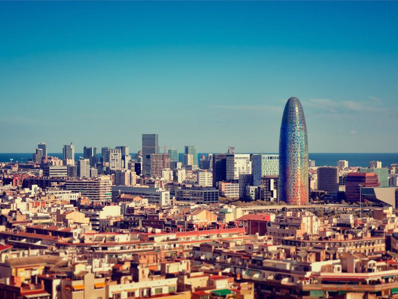 foto ciudad barcelona: