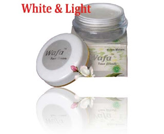 Cream Wajah White and Light
