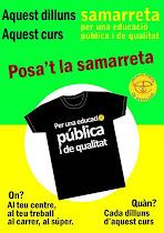 SAMARRETA PER UNA EDUCACIÓ PÚBLICA I DE QUALITAT