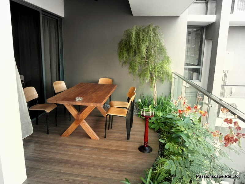 Modern balcony landscape images for Balcony ideas singapore