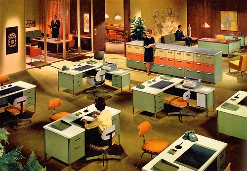1960s office for Total office design 50 contemporary workplaces