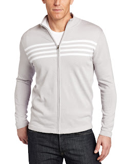 Spring Mercer Men's Full Zip Chest Stripe Hoodie