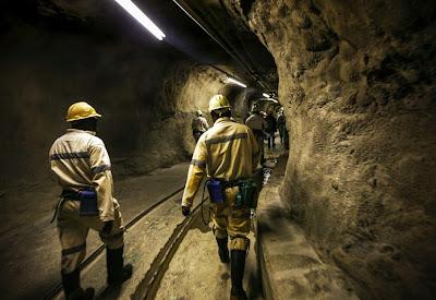 A mina mais profunda do mundo