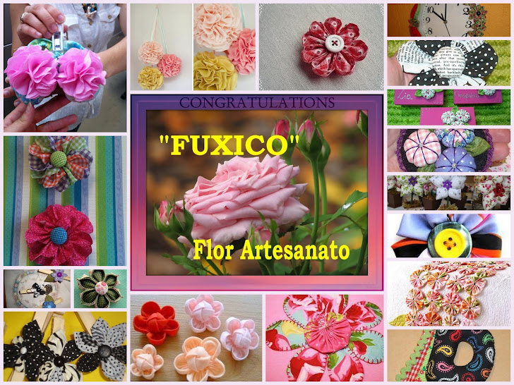 flor feita de fuxico Baidu - Fotos De Flores Feitas De Fuxico