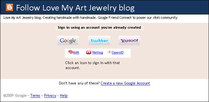 how to follow a blog on blogspot