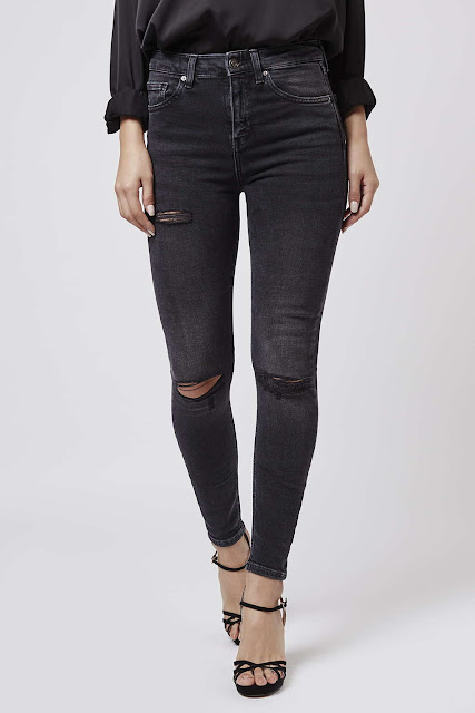 moto cain jeans, black ripped cain jeans,