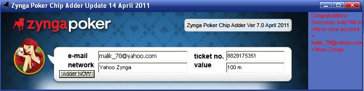 Hacker chips zynga poker facebook bones new time slot