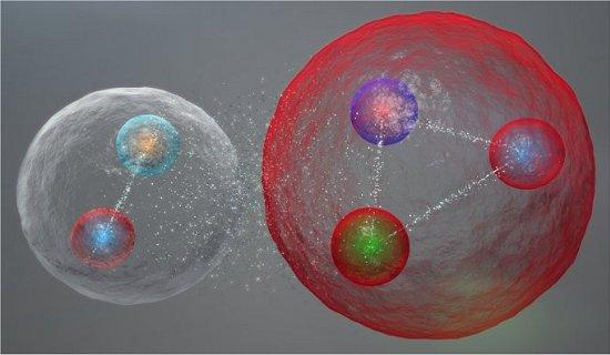 Descoberta nova classe de partículas no LHC