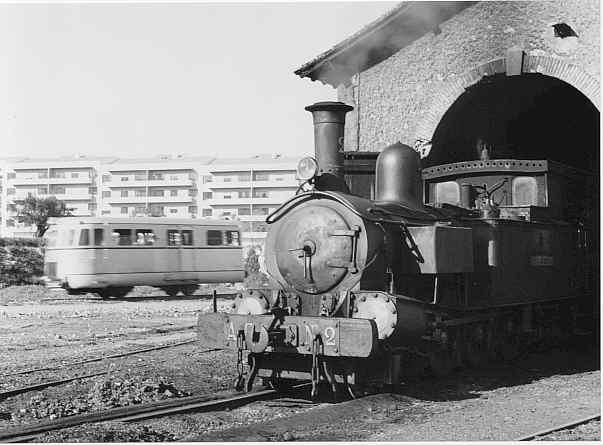 L'autovia de la VAY i la locomotora nº 2,