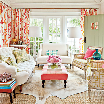 Mix and Chic: Fabulous Space- From front porch into a beautiful ...