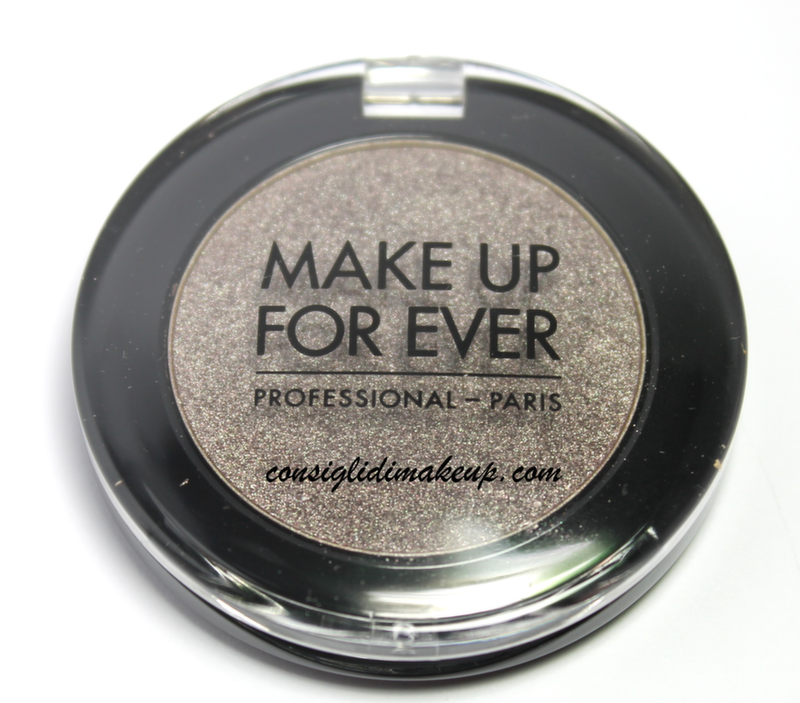 review mufe artist shadow ombretto taupe