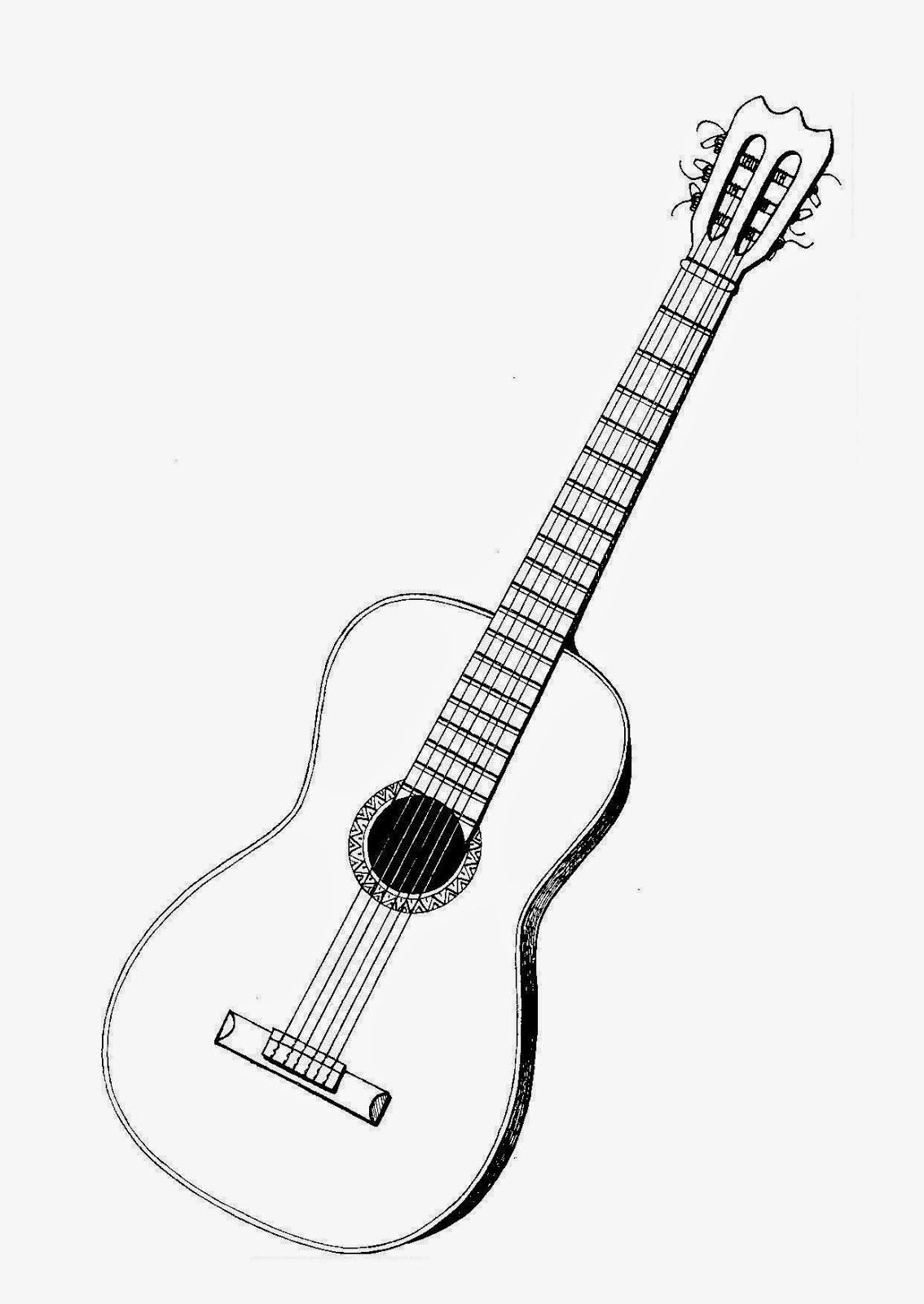 Dibujos para colorear. Maestra de Infantil y Primaria.: Instrumentos ...
