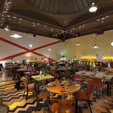 ديكورات واثاث مطاعم حديثة وناجحة