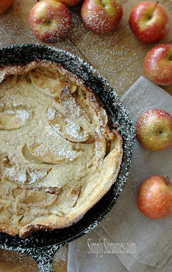 cinnamon apple dutch baby