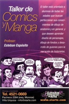 Taller de Comics y Manga 2014