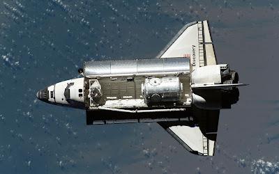 space shuttle over doak - photo #24