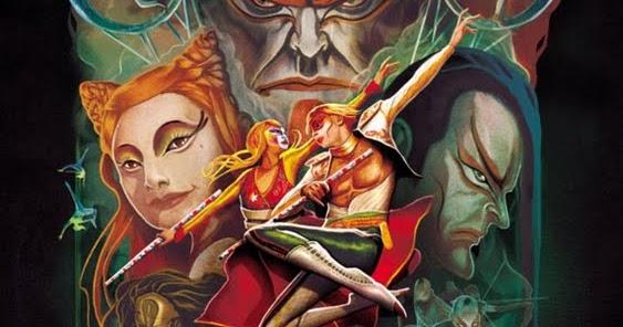 Cirque Du Soleil KA  #1 SDCC San Diego Comic Con 2012 EXCLUSIVE Marvel