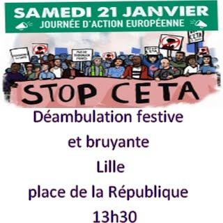 21 janvier - STOP CETA
