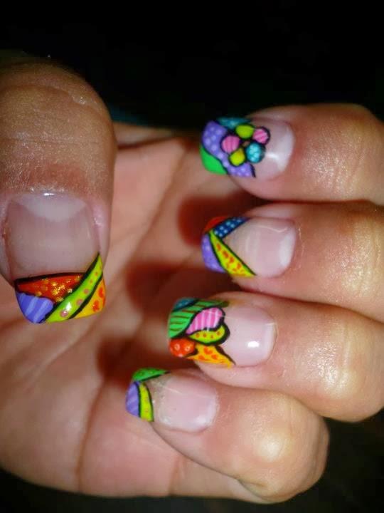 Decoración uñas masglo - Imagui
