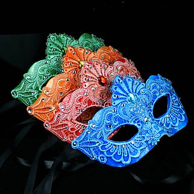 Máscaras Venecianas de colores