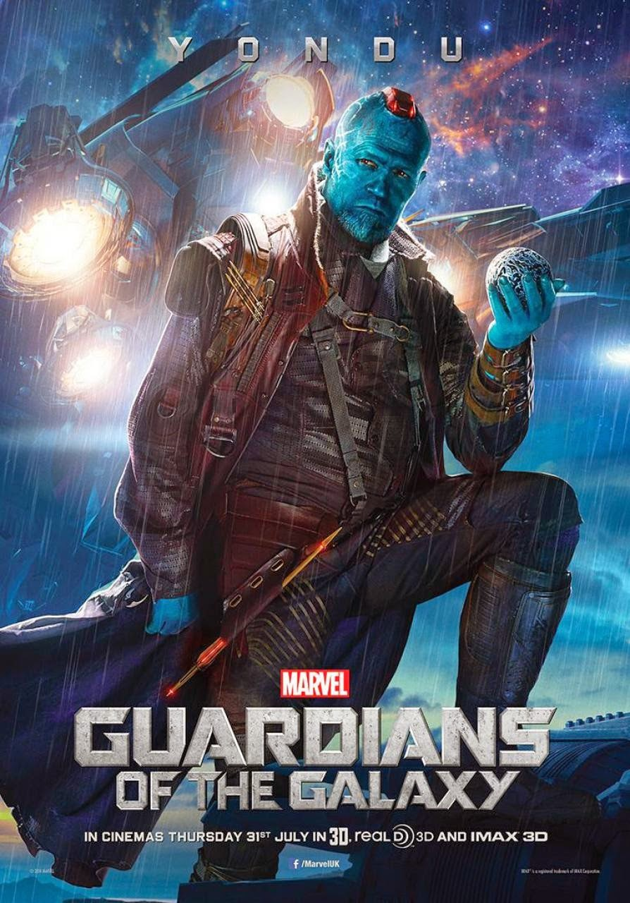 "Guardians of the Galaxy ""Villains"" Character Movie Poster Set - Michael Rooker as Yondu"