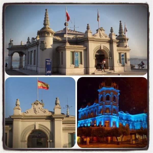 Santander - Palacete del Embarcadero / Gran Casino del Sardinero